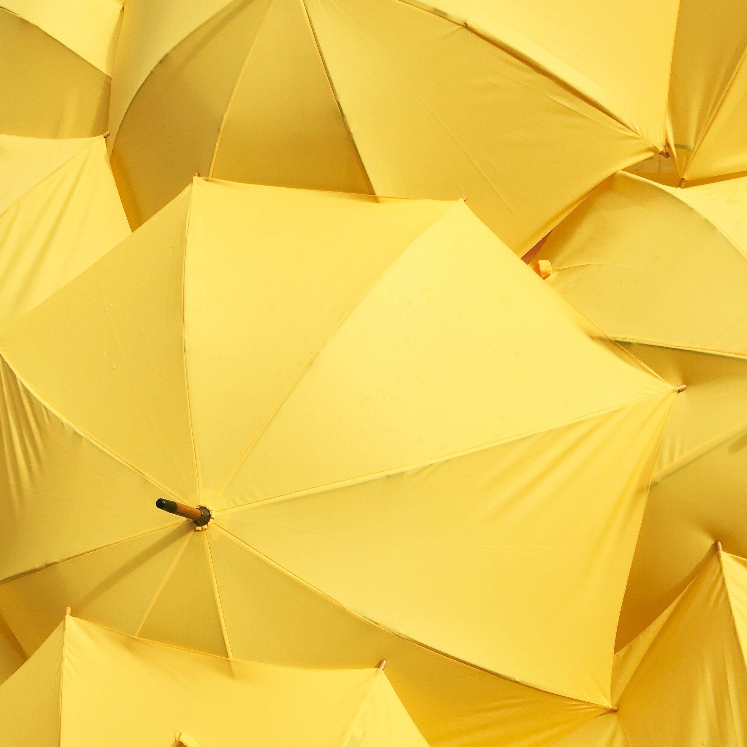 yellow-umbrellas